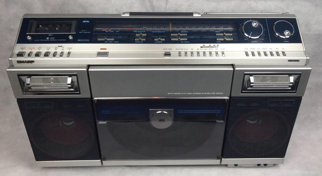 Sharp-VZ-2000-Vintage-Retro-Ghetto-Blaster-_57