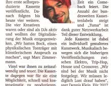 TUMA Interview für die Ruhr Nachrichten